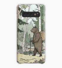 Bear in the Woods Case/Skin for Samsung Galaxy