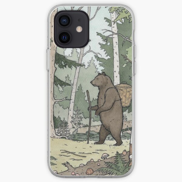Bear in the Woods iPhone Soft Case