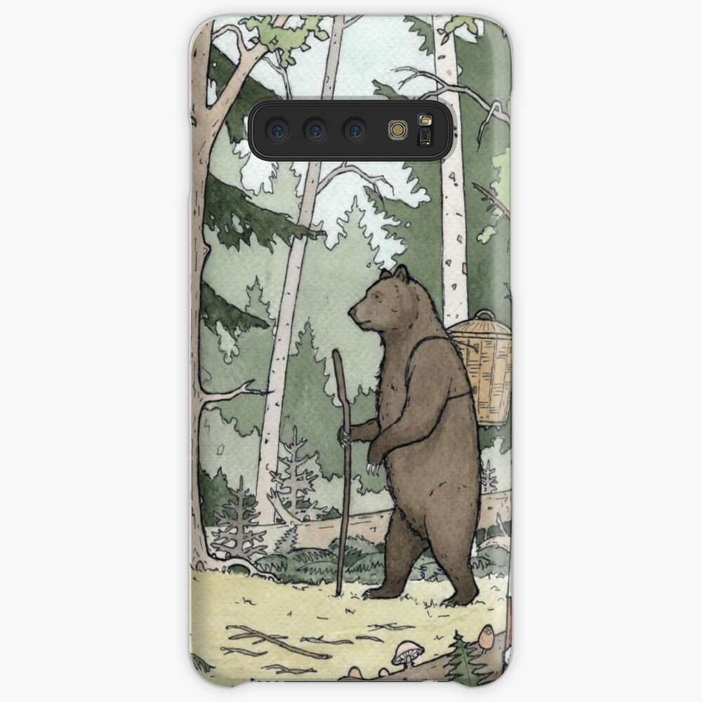 Bear in the Woods Case & Skin for Samsung Galaxy