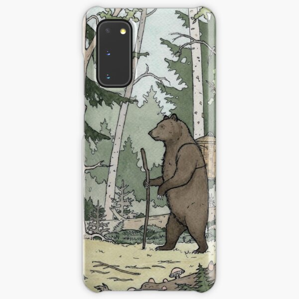 Bear in the Woods Samsung Galaxy Snap Case