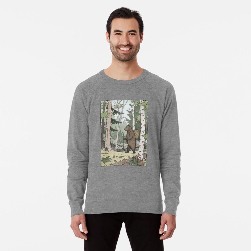 Bear in the Woods Lightweight Sweatshirt