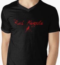 Red Mosquito Men's V-Neck T-Shirt
