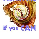 Baseball Glove by evisionarts