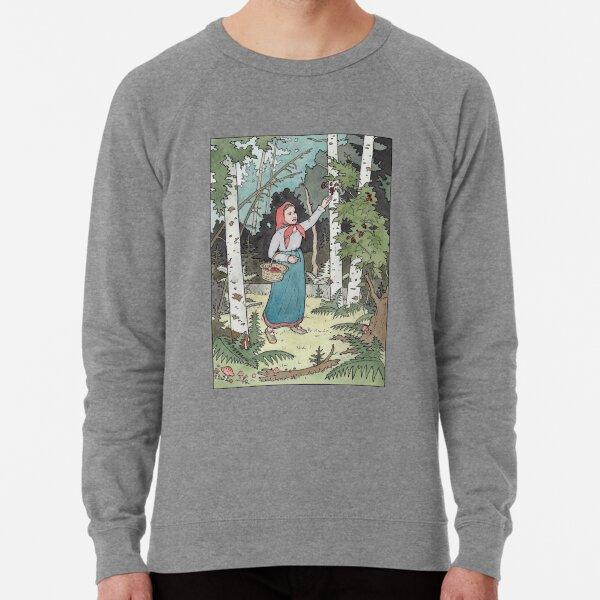 Masha picking berries Lightweight Sweatshirt