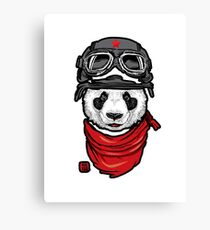 Cool Panda Design Canvas Print