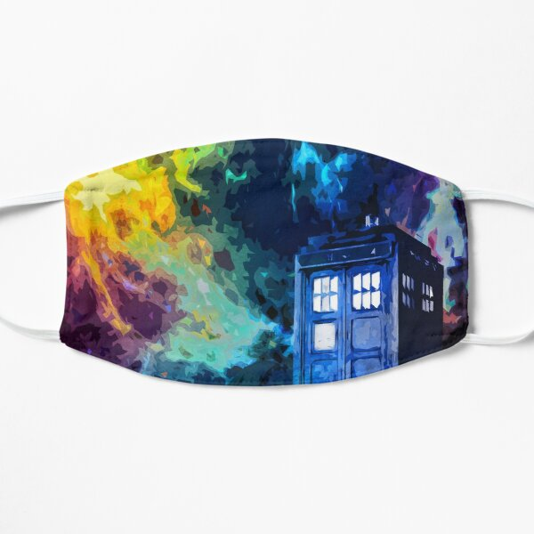 Time in Space Flat Mask