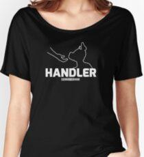 Nerdy Doggo Handler Women's Relaxed Fit T-Shirt