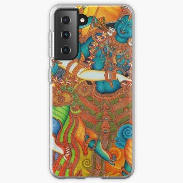 Kerala Mural Painting - Kathakali Samsung Galaxy Soft Case