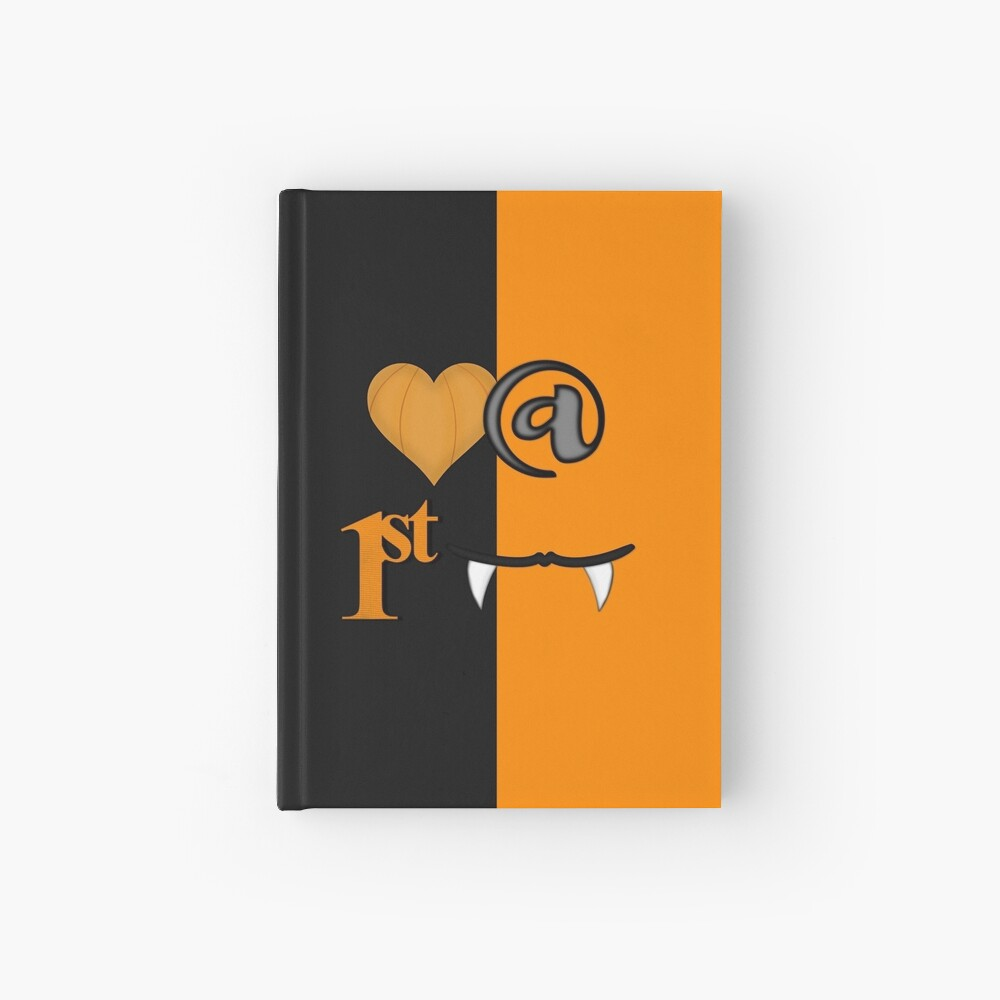 Love At First Bite Halloween Hardcover Journal