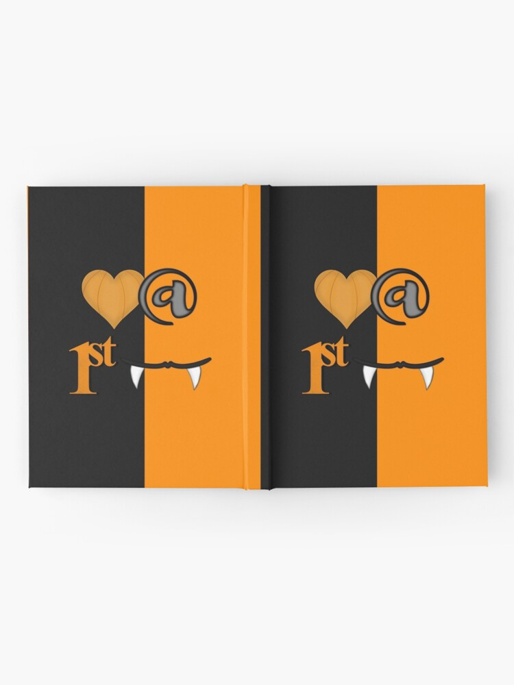 Alternate view of Love At First Bite Halloween Hardcover Journal