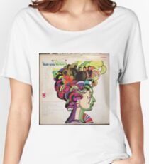 Now and Them, Psychedelic Garage Rock lp Women's Relaxed Fit T-Shirt