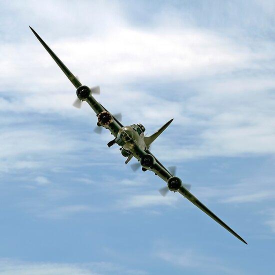 B-17 Flying Fortress Sally B by © Steve H Clark