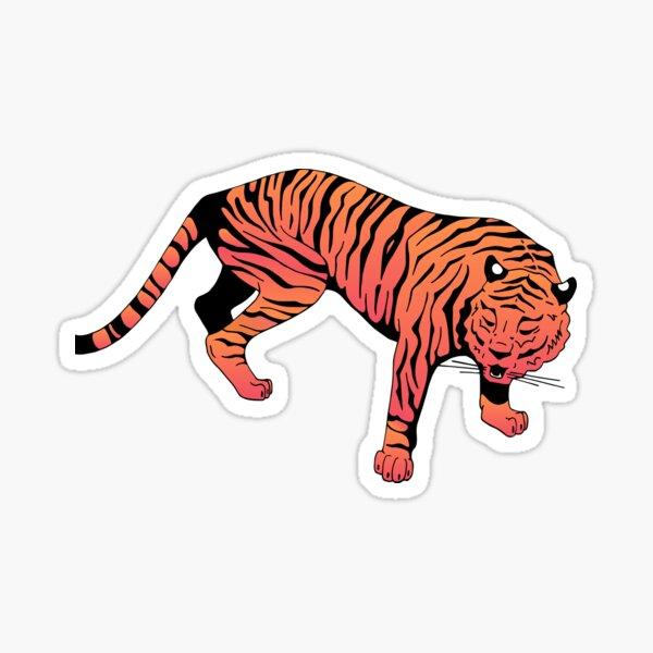 Tigre pop Sticker