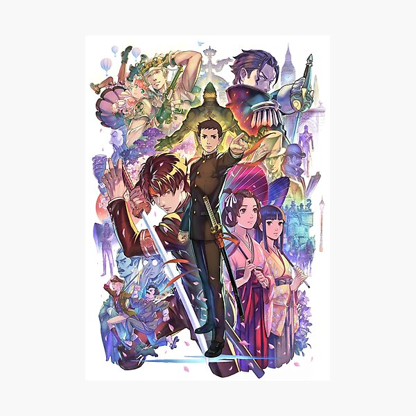 The Great Ace Attorney Chronicles Photographic Print
