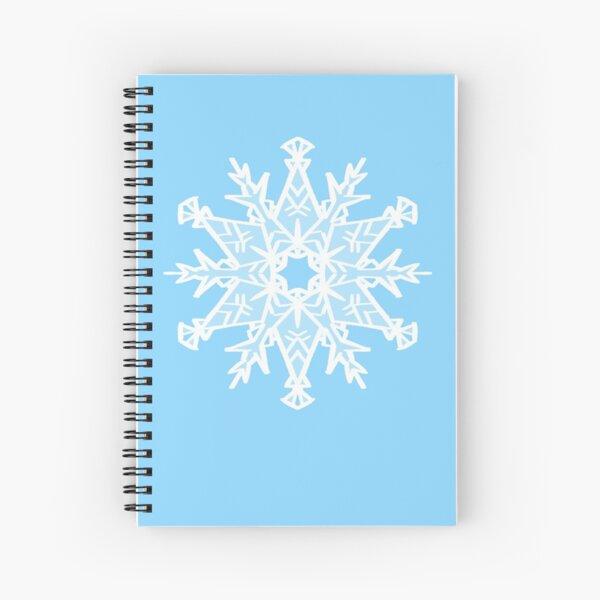 Simple Snowflake 1  Spiral Notebook