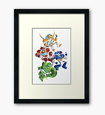 Rescue Bots: Fall to the Rescue Framed Print