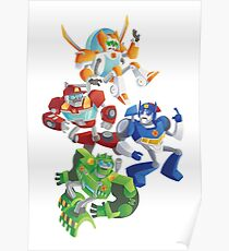 Rescue Bots: Fall to the Rescue Poster