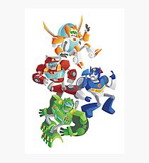 Rescue Bots: Fall to the Rescue Photographic Print