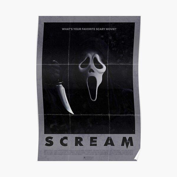 """Scream"" Vintage Poster 2 Poster"
