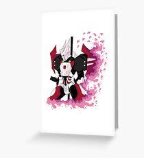 Drift: Sakura Petals Greeting Card