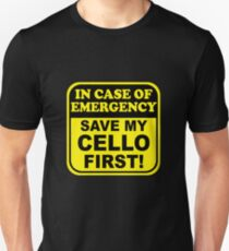 Cello Emergency Unisex T-Shirt