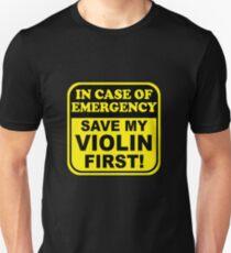 Save My Violin Unisex T-Shirt