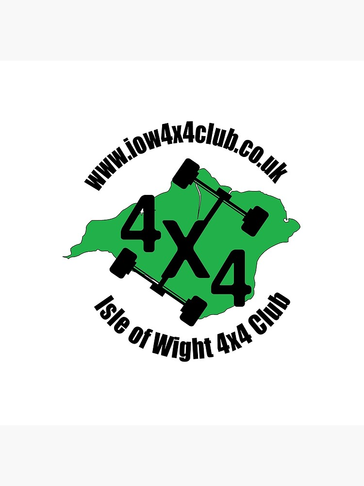 IOW 4x4 Club Logo by iow4x4club