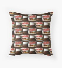 Nutella Digital Dream Throw Pillow