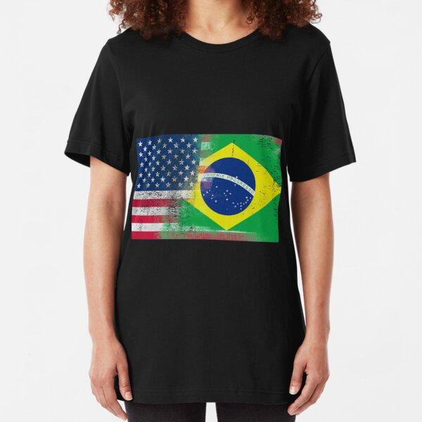 WORLDS GREATEST BRAZILIAN Brazil Novelty Themed Women/'s T-Shirt