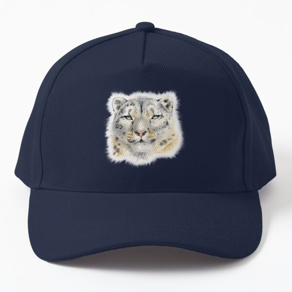 Snow Leopard - Queen of the Mountains Baseball Cap