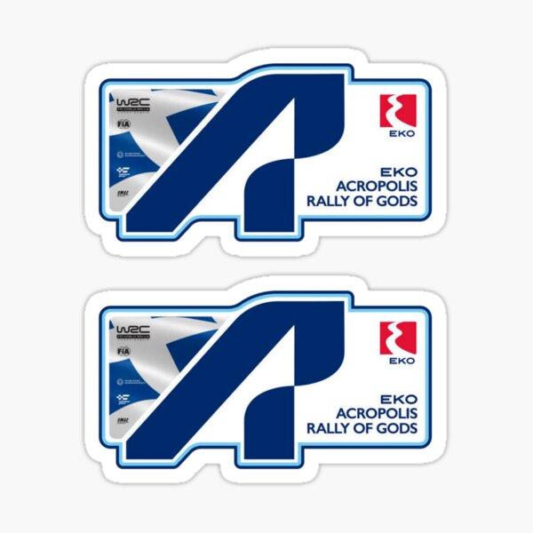WRC ACROPOLIS RALLY GREECE 2021 Sticker