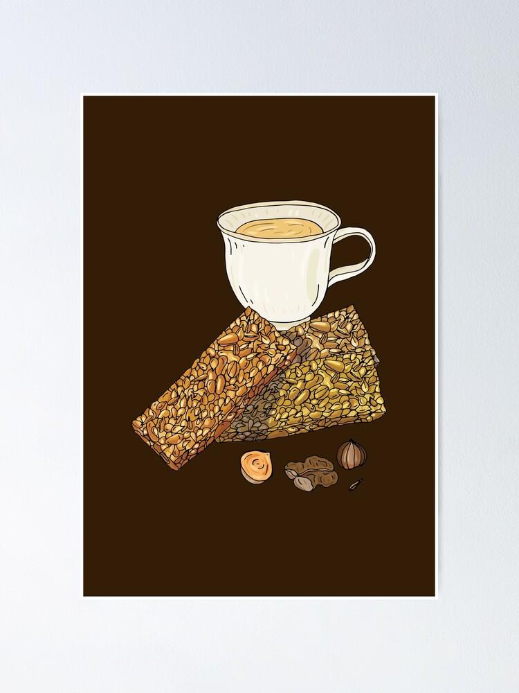 Alternate view of Gozinaki - Georgian Caramelized Honey & Nut Brittle Poster