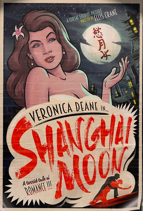 "Shanghai Moon - Archer"" Posters by cvx-official 