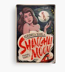 Shanghai Moon - Archer Canvas Print