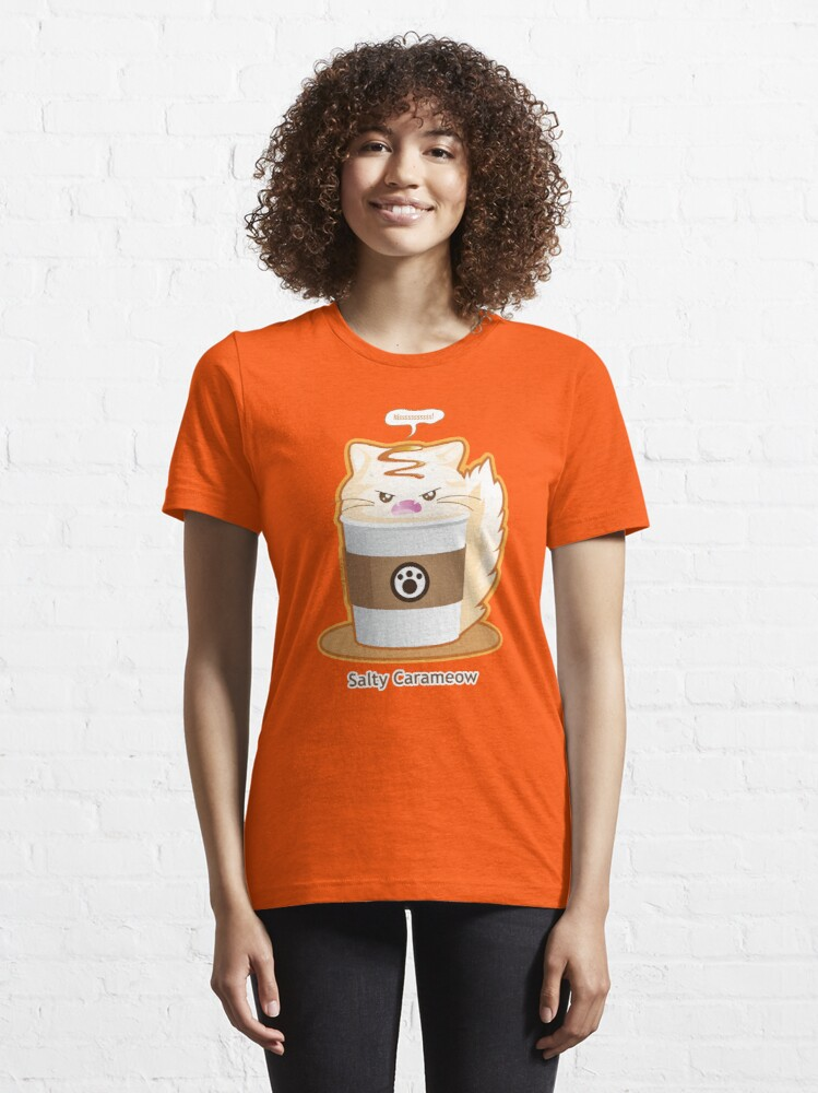 Alternate view of Purrista Pawfee: Salty Caramel Kitty Coffee Essential T-Shirt