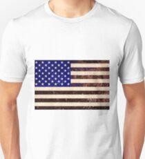 American Flag Vintage Grunge Unisex T-Shirt