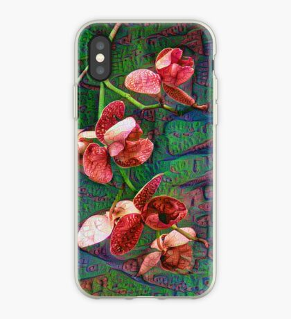 Phalaenopsis A #DeepDream iPhone Case