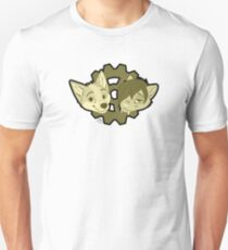 sepia tone cog furry logo Unisex T-Shirt