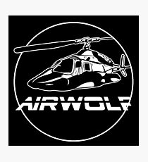 Airwolf Chopper Photographic Print