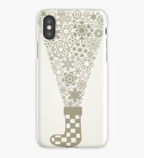 Sock Christmas iPhone Case/Skin