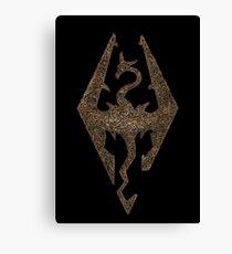 Skyrim symbol Canvas Print