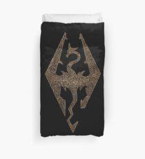 Skyrim symbol Duvet Cover