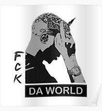 RAP / HIP-HOP: Tupac Shakur aka 2Pac / Makaveli Poster
