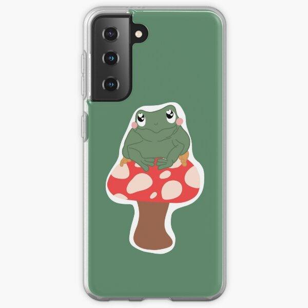 Love Frog on Mushroom  Samsung Galaxy Soft Case