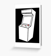 Arcade Machine Greeting Card