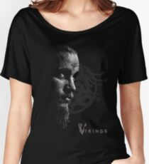 Vikings Ragnar Lothbrook Valhalla Women's Relaxed Fit T-Shirt