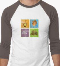 Oak Tree Men's Baseball ¾ T-Shirt