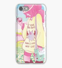 Oh my Bubblegum, look at that BAT. iPhone Case/Skin