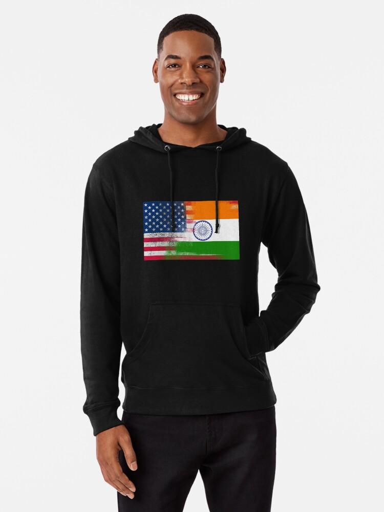 d83f90965 Indian American Half India Half America Flag