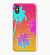 Hotline Palmtrees iPhone Case